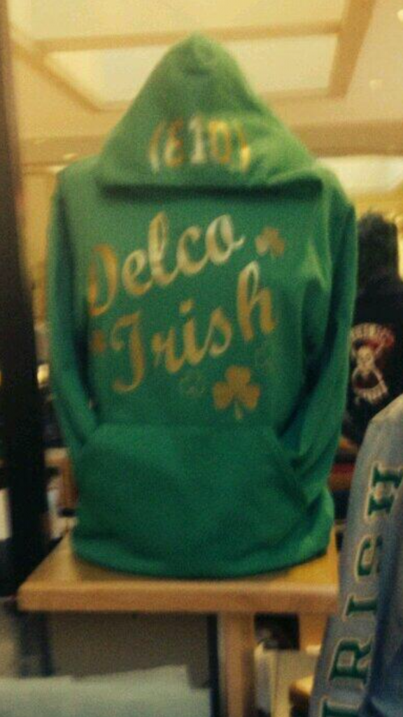 Delco Hoodie. Check.
