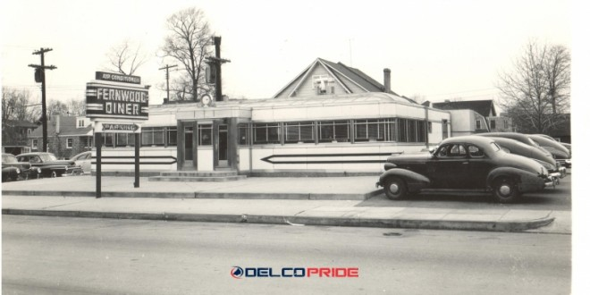 DELCO HISTORY- 1950s – Fernwood Diner – Baltimore Pike, East Lansdowne, Delaware County